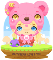 Vector - CaityBear Kokeshi by firstfear