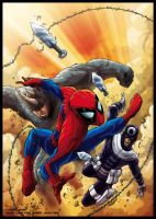 Colours- SpideyUK 161 cover by JasonCardy