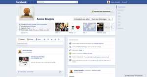 New Profile Facebook TimeLine by Aminebjd
