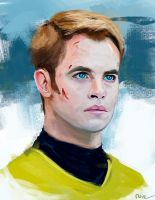Captain Kirk by Namecchan