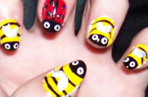 Lady Bugs and Bumble Bees 2 by HideTheKnives