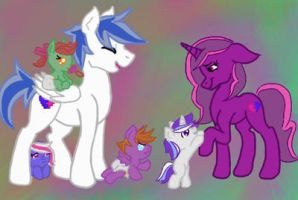 The Bit family by Solarist97