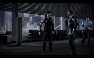 Mass Effect 3 - Female Casual Outfit 3 by Revan654