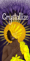 Crystallize comic cover by RhodArt