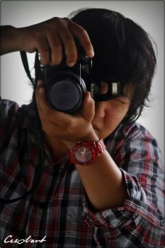 Me and Nikon by CesAart07