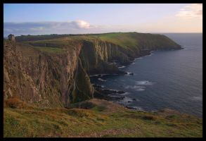 Old Head of Kinsale Cliffs by 250981