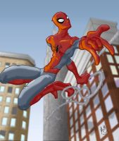 Spider-Man by fishmongr