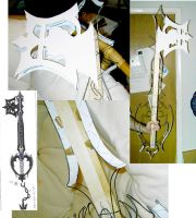 keyblade-cosplay 02 by Kieshar
