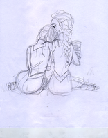 Elsanna WIP #2 by maybelletea