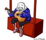 Sans Is Cool by NeroScottKennedy
