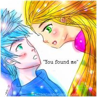 Jack Frost + Rapunzel: You Found Me by WhiteKiss
