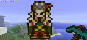 Minecraft - Kefka by CajunPyro