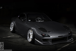 Silver Mazda RX7 by MattDesign78
