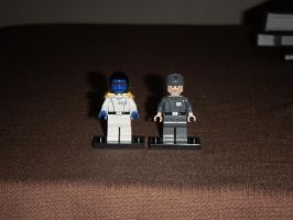 Grand Admiral Thrawn and Captain Pellaeon by BrigadierDarman