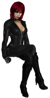 Anna Williams Catwoman by SpyrousSeraphim
