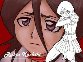 Rukia Kuchiki 1 by Vectriss