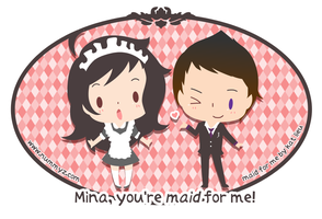 Maid for Me Postcard Swag by nummyz