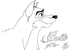 Balto - my father figure by MortenEng21