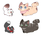 Cute Kitties Adopts [closed] by bittydanca