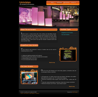 Univision Website Products pag by safialex83