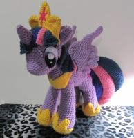 Princess Twilight Sparkle by NerdyKnitterDesigns