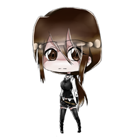 Chibi Rei commission by Shiniya0w0MadJud