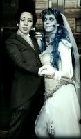 Corpse Bride Couple by Broken-Starr-Child