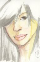 Mindi Watercolor by Luvcnkll