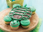 Pull Apart Turtle Cupcakes by citybeachfremont