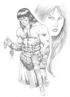Conan - Remembering Belit by RubusTheBarbarian