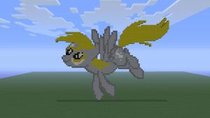 MLP Derpy in Minecraft by o0rolyat0o