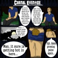 Carnal Eventide page1 .colored. by werewolfGene