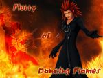 BG Kingdom Hearts Axel by Moonofthedarknight