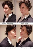 Sherlock: Preview Face/Wig by Shigeako