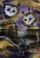 Tired Owls Set for teaming dream 19 desember 2012 by m1shutka