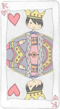 king of hearts by afterpisces