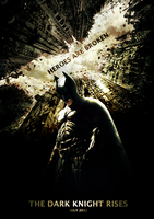 The Dark Knight Rises Poster by BiggertMedia