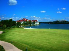 Golf Course Near the Grand Floridian by jesus-at-art