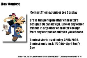 2nd Contest- June Cosplay by JuniperLee-Fans