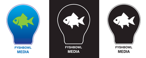 Fyshbowl Media Logo - Version 3 by Jriiann