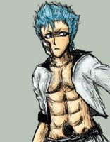 Grimmy xD by Sokuji by Grimmjow-FC
