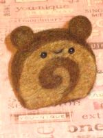 Chocolate Cake Roll Bear OuO by xxNostalgic