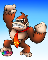 Smash Veteran Donkey Kong by SonicKnight007