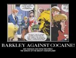 Motivation - Barkley against Cocaine by Songue