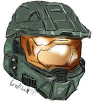 Master Chief, a true hero by cavudog
