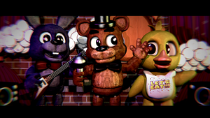 Like The Old Days - [FNaF Blender Poster] by ChuizaProductions