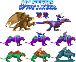 Motu Sprite Sheet Two by Innershade