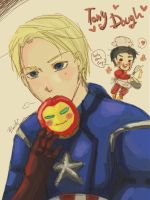Want some Tony Doughs? by Reiki-chan