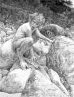 Satyr by ChrisQuilliams