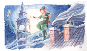 Peter Pan by melusineistross